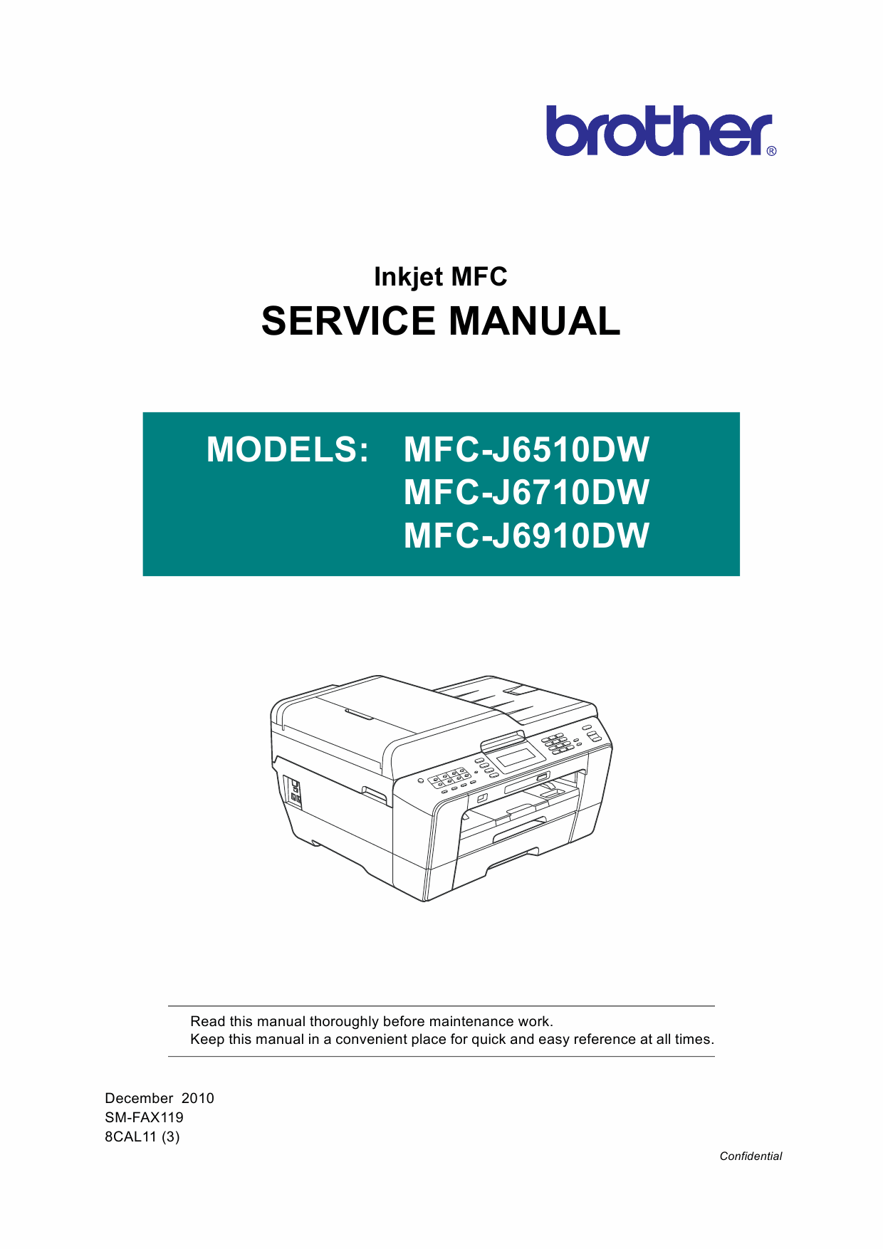 Brother Inkjet-MFC J6510 J6710 J6910 DW Service Manual-1